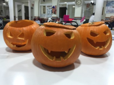 Taller de Motricidad Calabaza Halloween
